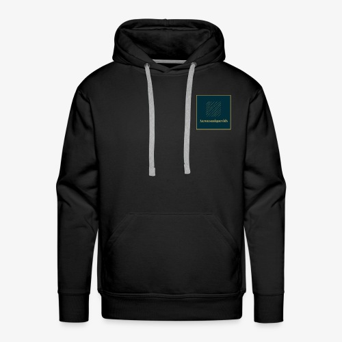 Aaronsuniquevids Original Logo - Men's Premium Hoodie