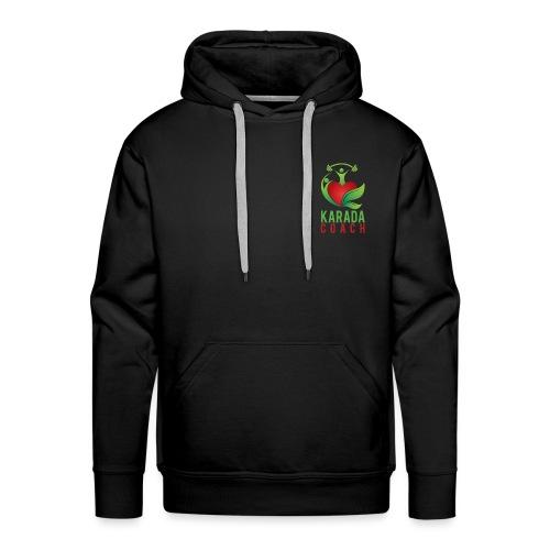 Karada Coaches Coach Vertical - Mannen Premium hoodie