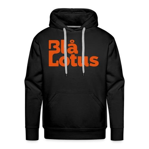 Blå Lotus_logo - Premiumluvtröja herr