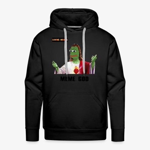 living memes - Men's Premium Hoodie