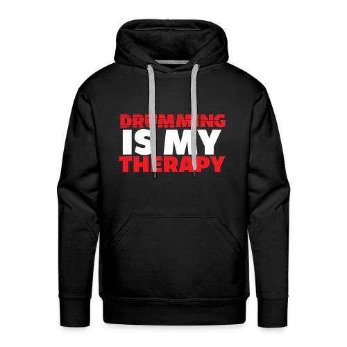 drumming therapy - Men's Premium Hoodie