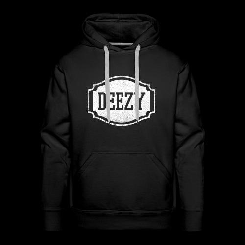 DEEZY CLASSICWHITE - Mannen Premium hoodie