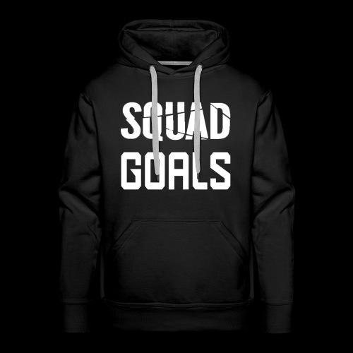 squad goals - Mannen Premium hoodie
