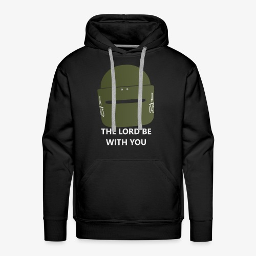 R6 The Lord Be With You - Men's Premium Hoodie