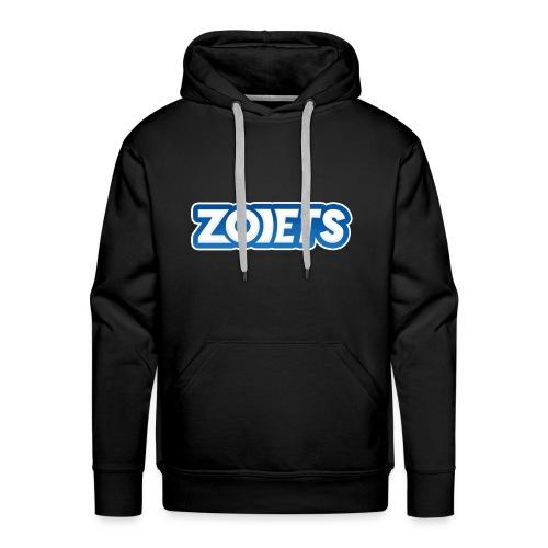 Zoiets - Mannen Premium hoodie