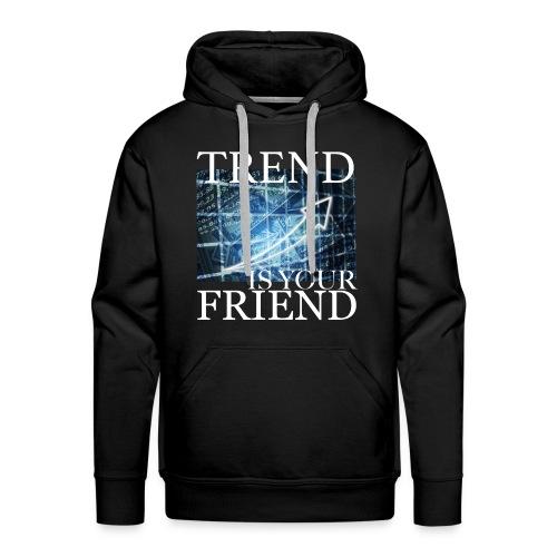 Designed T-Shirt for Traders Stock Market Forex - Felpa con cappuccio premium da uomo
