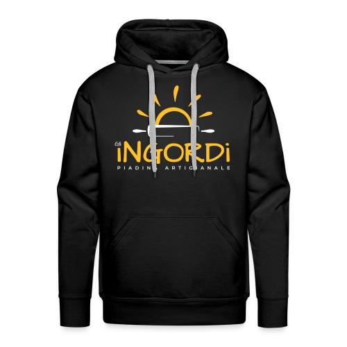 Gli Ingordi - Felpa con cappuccio premium da uomo