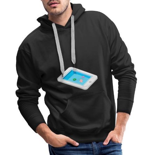 Iphone pool - Men's Premium Hoodie