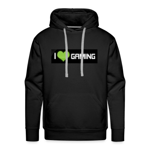 I <3 Gaming Tee And Others - Men's Premium Hoodie