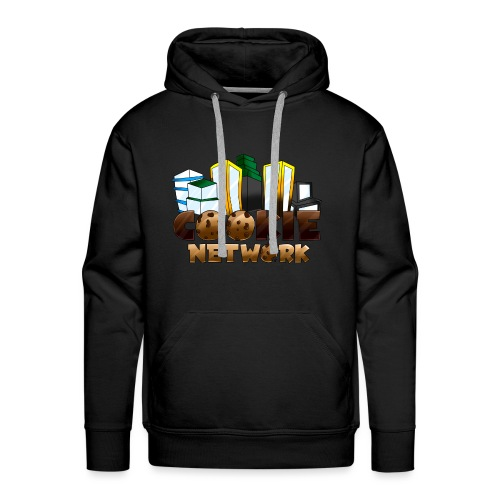 Cookienetwork logo - Mannen Premium hoodie
