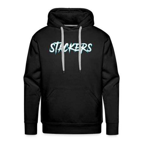 STACKERS (Blue) - Men's Premium Hoodie