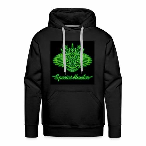 Species Hunter Neon 01 - Mannen Premium hoodie