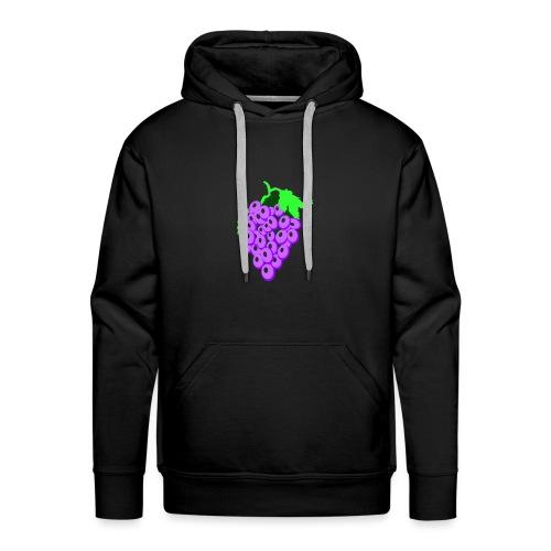 Druif foto Design - Mannen Premium hoodie