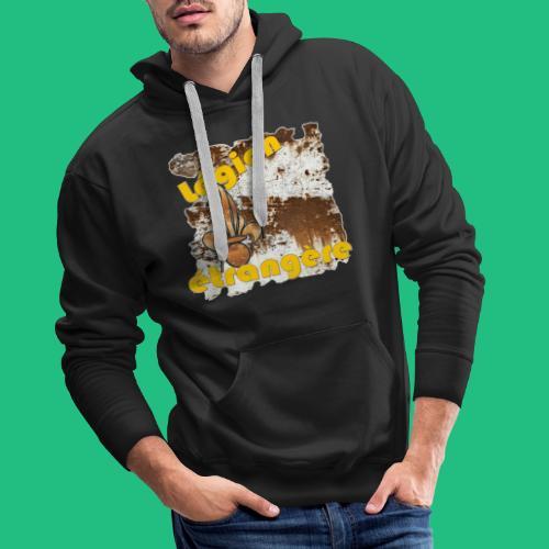 FLAMEO LEGION - Sweat-shirt à capuche Premium pour hommes
