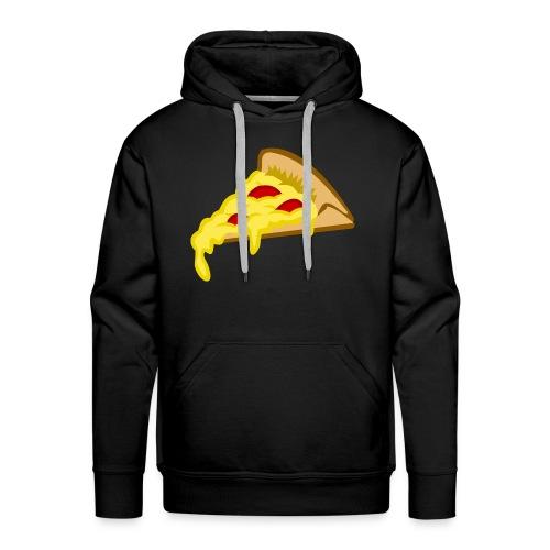 If it fits my macros Pizza - Mannen Premium hoodie