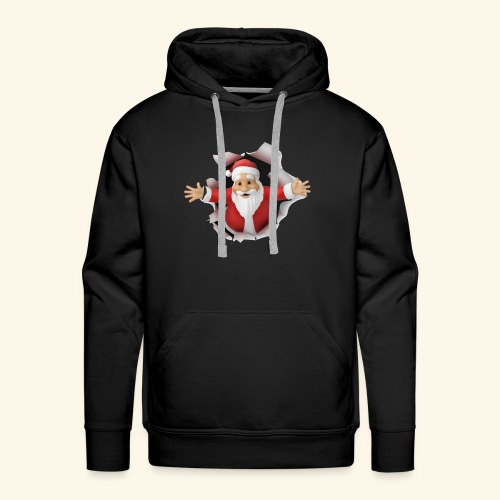 Santa Suprise - Men's Premium Hoodie