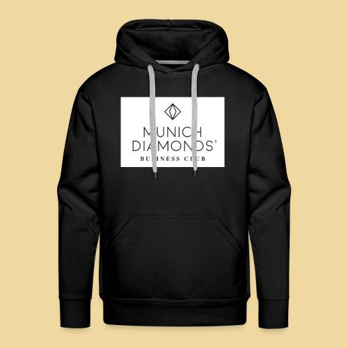 MDBC Logo weiss - Männer Premium Hoodie