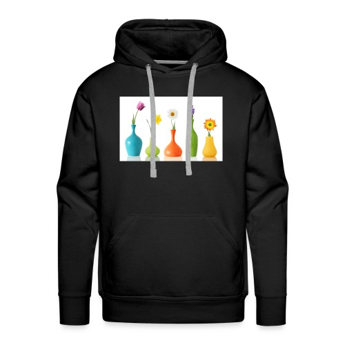 bloempotje - Mannen Premium hoodie
