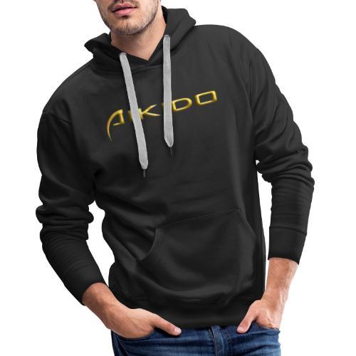 AIKIDO Gold AD - Männer Premium Hoodie