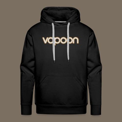Vapoon Logo simpel 2 Farb - Männer Premium Hoodie