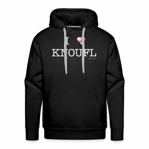 i love knoufl white - Männer Premium Hoodie