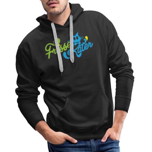 Frisse Kater Logo Kleur - Mannen Premium hoodie