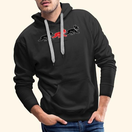 frenchies BR - Sweat-shirt à capuche Premium pour hommes