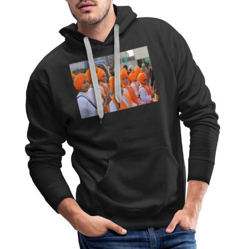 sikh image - Men's Premium Hoodie
