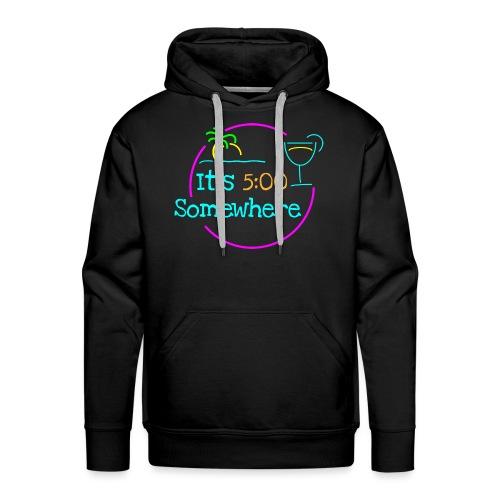 5 O Clock - Men's Premium Hoodie