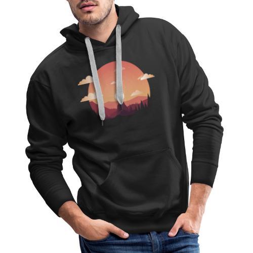 Monte Sagrado - Sudadera con capucha premium para hombre