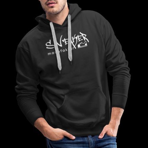Sneakermanufaktur Linz - black edition - Männer Premium Hoodie