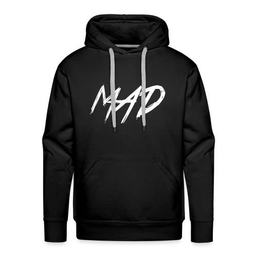 White and black - Mannen Premium hoodie