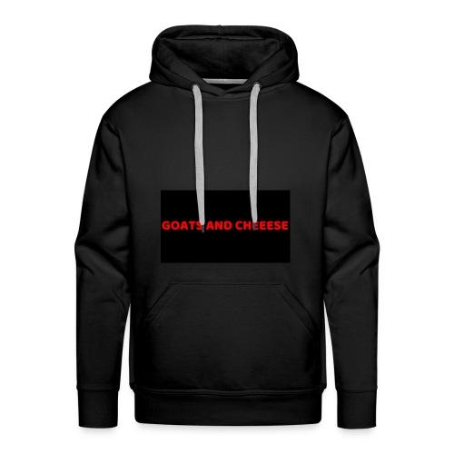 GOATS AND CHEESE - Men's Premium Hoodie