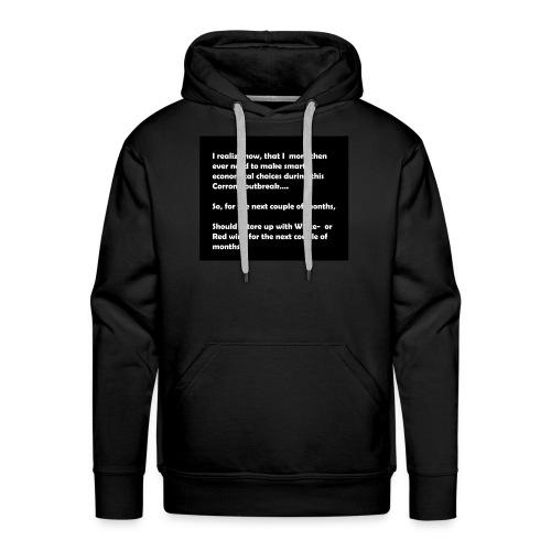 CORRONA jokes - Men's Premium Hoodie