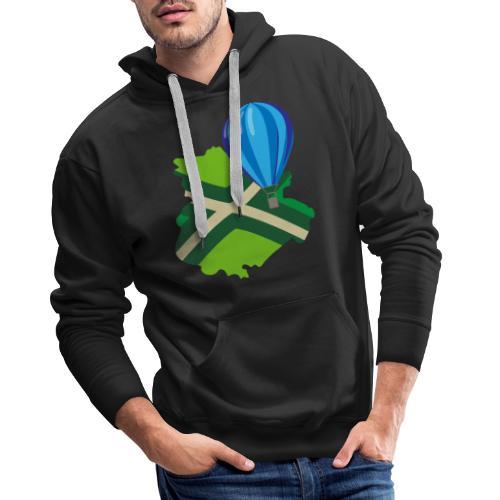 Achterhoek Ballonvaarten - Mannen Premium hoodie