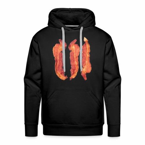 Bacon Strips - Felpa con cappuccio premium da uomo