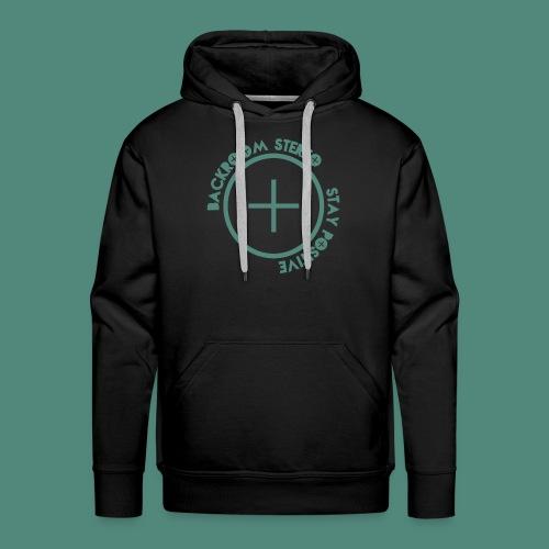 Stay Positive Logo Tee - Men's Premium Hoodie