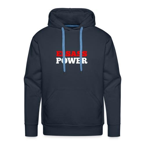 Elsass Power - Sweat-shirt à capuche Premium pour hommes