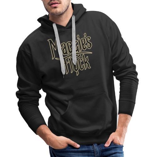 Maggie's Flock logo 2.0 - Mannen Premium hoodie