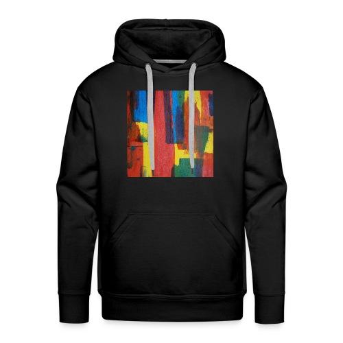 Abstract Primary - Men's Premium Hoodie