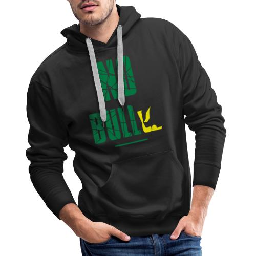 No Bull-y (bully) vector-image - Men's Premium Hoodie