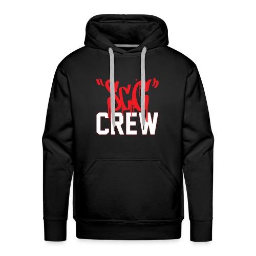 ScC CREW Logo Rood - Mannen Premium hoodie