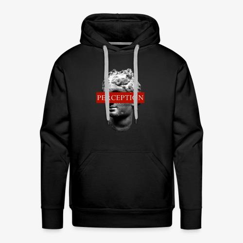TETE GRECQ RED - PERCEPTION CLOTHING - Sweat-shirt à capuche Premium pour hommes
