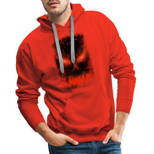 demon skull - Sweat-shirt à capuche Premium pour hommes