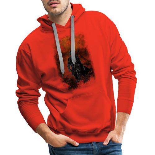 mandalorian - Sweat-shirt à capuche Premium pour hommes