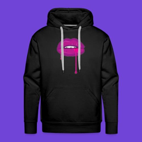 Purple Kiss - Felpa con cappuccio premium da uomo