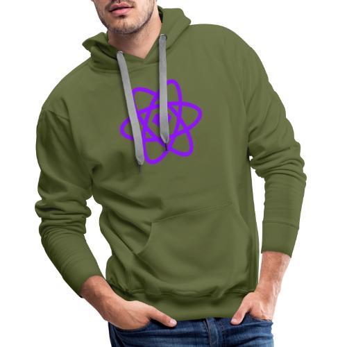 Sketch2React Dark Purple Logo - Men's Premium Hoodie