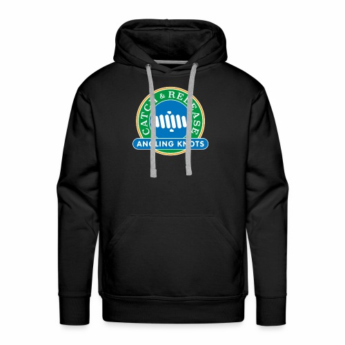 Angling Knots Catch and Release - Mannen Premium hoodie