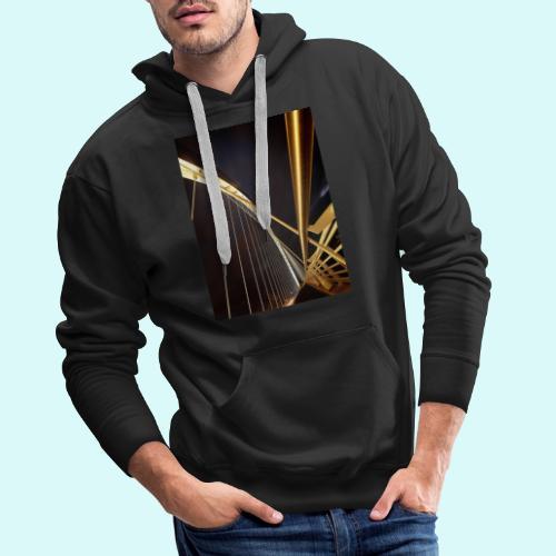 perspective - Sweat-shirt à capuche Premium pour hommes