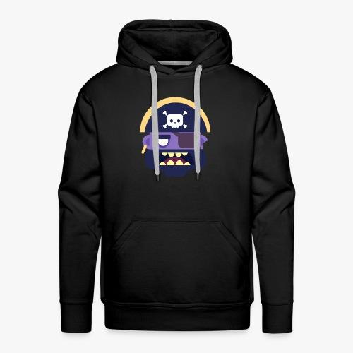 Mini Monsters - Captain Zed - Herre Premium hættetrøje